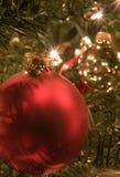 Ornamenti di natale Immagini Stock