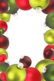 Ornamenti di natale. illustrazione di stock