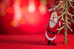 Ornamenti di Natale con lo spazio della copia Fotografie Stock