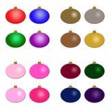 Ornamenti di Natale - diversità Fotografia Stock Libera da Diritti