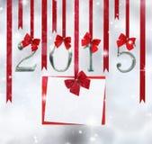 2015 ornamenti di numero Fotografia Stock