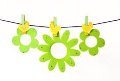 Ornamenti di Pasqua fotografia stock