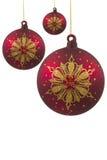 Ornamenti di vetro immagine stock