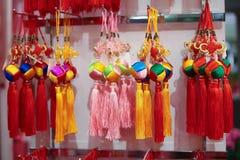 Ornamenti festivi cinesi Fotografie Stock Libere da Diritti
