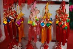 Ornamenti festivi cinesi di stagione Immagini Stock