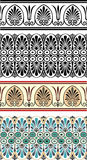 Ornamenti greci Fotografia Stock Libera da Diritti