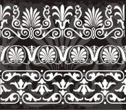 Ornamenti greci illustrazione di stock