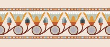 Ornamenti nazionali egiziani Immagini Stock Libere da Diritti