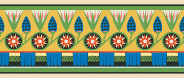 Ornamenti nazionali egiziani Immagine Stock Libera da Diritti
