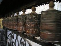 Ornamenti nepalesi Fotografia Stock Libera da Diritti