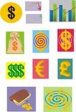 Ornamenti per il commercio Fotografia Stock