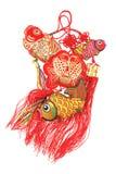 Ornamenti promettenti del pesce Immagine Stock