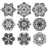 Ornamenti rotondi di vettore Fotografia Stock Libera da Diritti