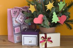 Ornamenti santi Fotografia Stock