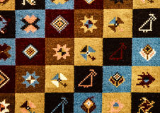 Ornamenti senza cuciture pieghi rumeni del modello Ricamo tradizionale rumeno Disegno etnico di struttura Progettazione tradizion Immagine Stock