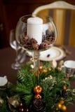 Ornamenti speciali per i giorni di Natale Fotografia Stock