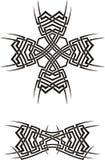 Ornamenti tribali Immagine Stock