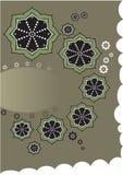 Ornamentic blommor Royaltyfri Bild