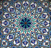 Ornamento árabe fotografia de stock royalty free