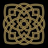 Ornamento árabe cinco de Bonab Imágenes de archivo libres de regalías
