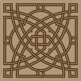 Ornamento árabe cuatro de Bonab Imagen de archivo