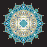 Ornamento árabe dos de Taza Foto de archivo libre de regalías