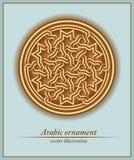 Ornamento árabe, modelo geométrico, inconsútil,  Imagen de archivo libre de regalías