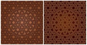 Ornamento árabe, modelo geométrico, inconsútil Fotografía de archivo libre de regalías