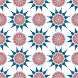 Ornamento árabe Teste padrão floral geométrico Cópia de matéria têxtil ilustração royalty free