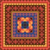 Ornamento étnico abstracto ilustración del vector
