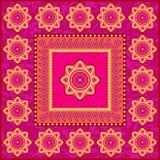 Ornamento étnico en estilo indio libre illustration