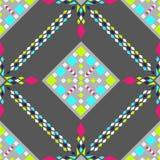 Ornamento étnico tribal del vector Elementos de la decoración fotografía de archivo