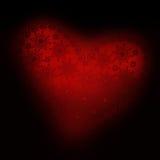 Ornamento 02 del cuore Fotografia Stock Libera da Diritti