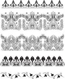 Ornamento abstracto Stock de ilustración