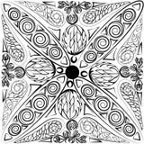 Ornamento abstracto de la fantasía Foto de archivo libre de regalías