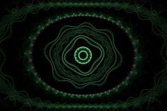 Ornamento abstracto del fractal Imagen de archivo libre de regalías