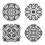 Ornamento abstracto del mehndi - ejemplo Fotografía de archivo