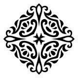 Ornamento abstracto del tatuaje del mehndi del vector Imagen de archivo libre de regalías