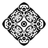 Ornamento abstracto del tatuaje del mehndi del vector Fotos de archivo