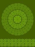 Ornamento abstracto del vector Imagenes de archivo