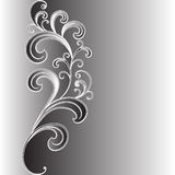 Ornamento abstrato das folhas e das filiais. Imagens de Stock Royalty Free