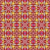 Ornamento abstrato do mosaico, teste padrão sem emenda ilustração do vetor