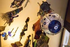 Ornamento afortunado del ojo de debajo Foto de archivo libre de regalías