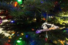 Ornamento al sudoeste del árbol de navidad del estilo Imagen de archivo libre de regalías