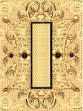 Ornamento antico del fondo Fotografie Stock