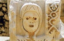 Ornamento antiguo del teatro Fotografía de archivo