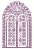 Ornamento arabo Immagine Stock