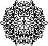 Ornamento arabo del cerchio Fotografie Stock