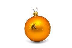 Ornamento arancione Immagini Stock Libere da Diritti