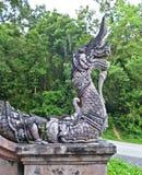 Ornamento architettonico tailandese Fotografia Stock